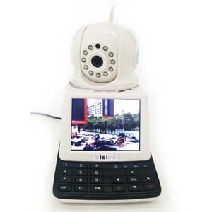 Dari Kamera CCTV IP Kamera Wireless 4 In 1 : Dvr + Alarm + Video Call Robot Vision   0