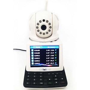 Dari Kamera CCTV IP Kamera Wireless 4 In 1 : Dvr + Alarm + Video Call Robot Vision   4