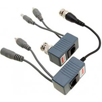 Jual Konektor Video Audio Balun Aktif Jarak 1000 M Untuk CCTV Kamera