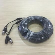 Kabel Untuk CCTV Kamera Panjang 25 M Dilengkapi Dengan BNC +  DC Power
