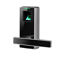 Dari ZKTeco Electronic Biometric Fingerprint Keyless Door Lock Digital Security Smart  4
