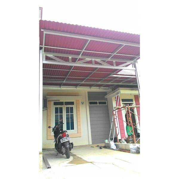 Kanopi Baja Ringan & kanopi besi Tangerang