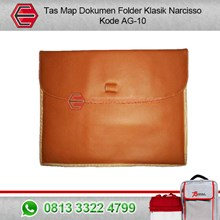 Tas Map Folder Classic Narcisso-Kulit
