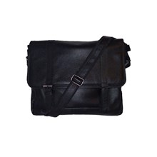 Tas Selempang  Arya Sling Bag Leather-Black