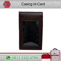Espro Casing ID Card Original Leather-Hitam