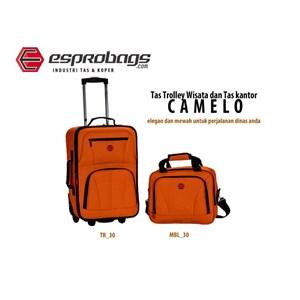 TAS TROLLEY WISATA DAN TAS KANTOR ESPRO CAMELO
