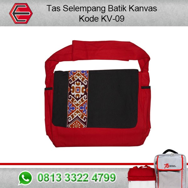 BATIK BAG CANVAS SLING KV-09 BATIK