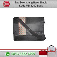 TAS BATIK SELEMPANG BARU SIMPLE MB-1200 BATIK
