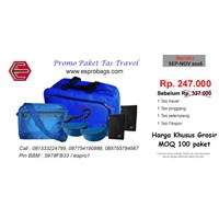 Kesempatan Baik Untuk Order Paket Tas Travel