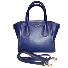 Tas Wanita Kulit Mini Handbag Genuine Leather - Navy