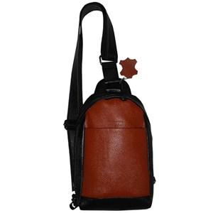 mens black leather sling bag Sale 22060253c64b2