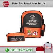 Paket Tas Ransel Sekolah Anak