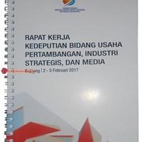 Blocknote Spiral Murah Buku Seminar Kit