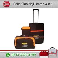 Jual Paket Tas Haji Umroh 3 in 1 dengan 1 Kombinasi Warna