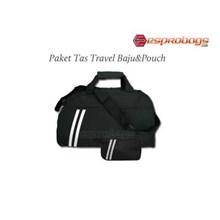 Tas Travel Baju Dan Pouch 1 Paket