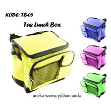 Tas Travel Lunch Box Colourful TB-05