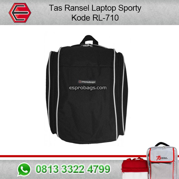 Tas Ransel Laptop Sporty  Kode : RL-710