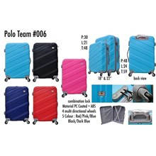 Polo Team Tas Koper Hardcase Kabin 006 Size 18inc Koper Branded