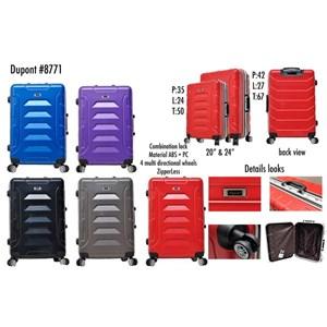 Dupont Koper Hardcase No Zipper 8771 Size 20&24inc Koper Branded