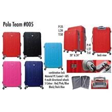 Polo Team Tas Koper Hardcase Kabin Size 24inc 005 Koper Branded