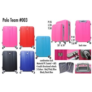 Polo Team Tas Koper Hardcase Size 24inc 003 Koper Branded