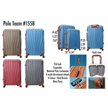 Polo Team Tas Koper Hardcase 1558 Size 24inc Koper Branded