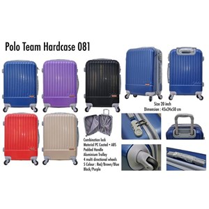 Polo Team Tas Koper Hardcase 081 Size 20inc Koper Branded