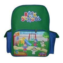 Tas Ransel Sekolah Anak Tas Sekolah Kode BC-21 New Hijau