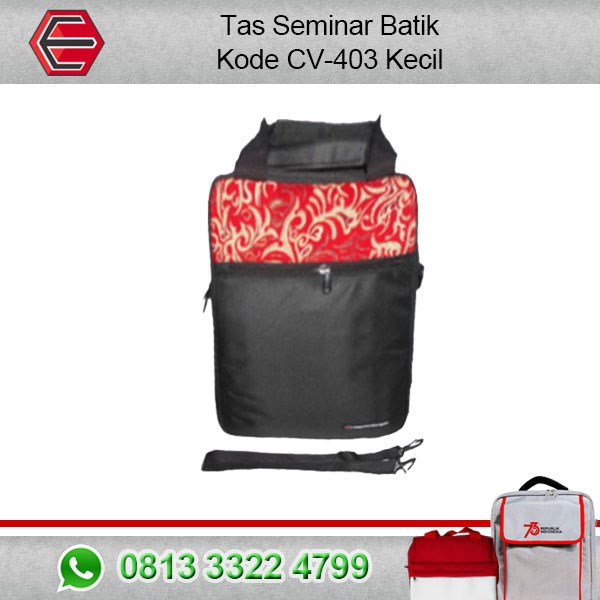 Tas Seminar Batik Kode CV:403 Kecil