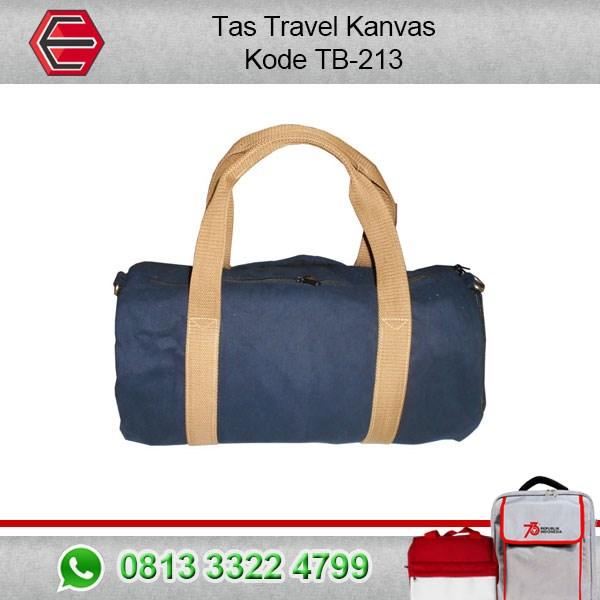 Tas Travel Wisata Bahan Kanvas Kode TB-213