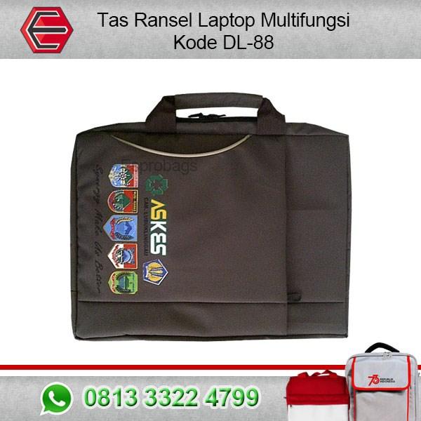 Jual Tas Ransel Laptop Multifungsi Keren Kode DL-88