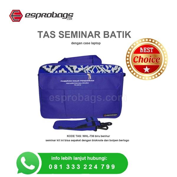 Tas Batik Seminar Laptop