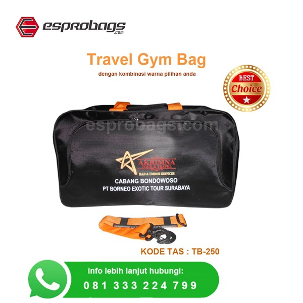 Hadiah souvenir mewah tas travel bag