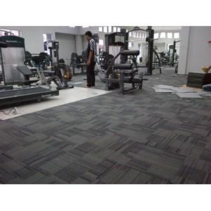 Jasa Pemasangan Karpet Tile Diklat BIN By Mitra Jaya Interior