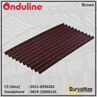 Atap Bitumen Onduline Klasik 3 mm Coklat 1