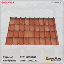 Onduvilla Bitumen Roof 3 mm Florentino 3D