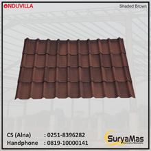 Atap Bitumen Onduvilla 3 mm Shaded Brown