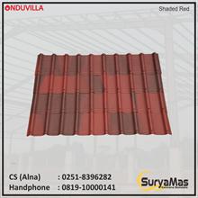 Onduvilla Bitumen Roof 3 mm Shaded Red