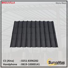 Onduvilla Bitumen Roof 3 mm Ebony Black