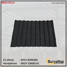 Onduvilla Bitumen Roof 3 mm Anthracite Black