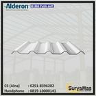 Atap UPVC Alderon ID Eff 860 mm Putih Doff 1