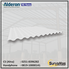 Atap UPVC Alderon RS Eff 760 mm Roma Putih 1