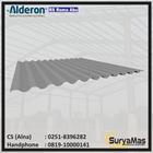 Atap UPVC Alderon RS Eff 760 mm Roma Abu-abu 1