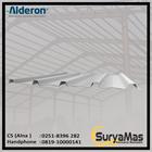 Atap UPVC Alderon RS Eff 760 mm Greca Putih 1