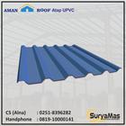 Atap UPVC Amanroof Eff 840 mm Biru 1