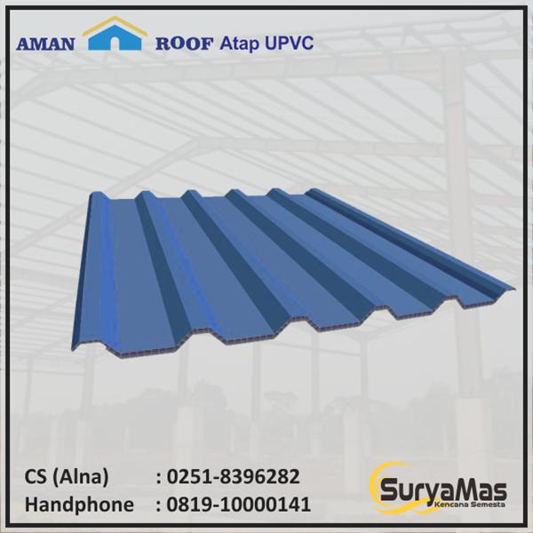 Roof UPVC Amanroof Eff 840 mm Blue