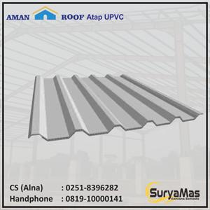 Atap UPVC Amanroof Eff 840 mm Putih
