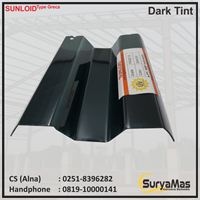 Atap Polycarbonate Sunloid 0.8 mm Greca Dark Tint