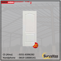 Pintu Angzdoor Molded Panel Series Ekonomi tipe 2