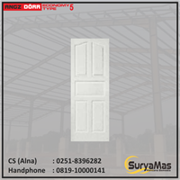 Pintu Angzdoor Molded Panel Series Ekonomi tipe 5